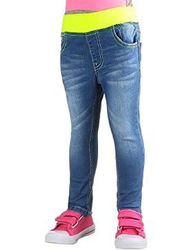 Kinder Jeans, MÄDCHEN USED LOOK STRETCH JEANS, KL-K-11059