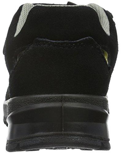 Sanita Unisex-Erwachsene Esd-Maja-s1p Leather Sandal Sicherheitsschuhe Schwarz (Black 2) HHdGLYW6
