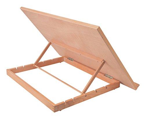 Artina cavalletto pittura da tavolo montpellier per artisti 75x46cm legno massello di faggio - Cavalletto da pittore da tavolo ...