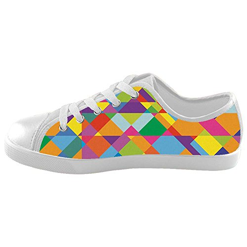 Dalliy Bunte Muster Kids Canvas shoes Schuhe Footwear Sneakers shoes Schuhe (Kids Mlb Shorts)