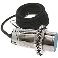 BeMatik - Sensor Interruptor de proximidad inductivo 6-36 VDC PNP NO M30 Sn:10mm