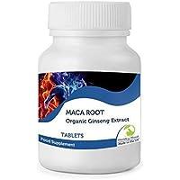 Natural Pura Raíz Maca 500mg Extracto Ginseng Andin Vitaminas Suplemento Alimenticio 30/60/90