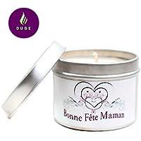 Bougie Parfumée Bonne Fête Maman Parfum au choix Bougie Naturelle Cadeau Merci Maman Cadeaux Fête des mères Cadeaux Personnalisés