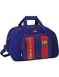 FC Barcelona Bolsa de Deporte Infantil, 40 cm, Azul / Granate