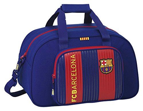 Safta FC Barcelona Bolsa de Deporte Infantil, 40 cm, Azul/Granate
