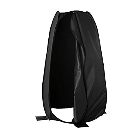 """Phot-R 6""""/183cm Deluxe Portable Indoor Outdoor Photo Studio Pop-Up Changing Dressing Fitting Tent Room with Carrying Case - Black"""