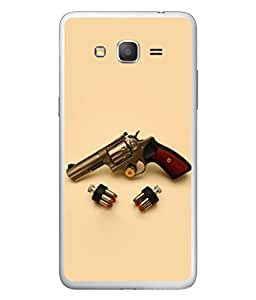 Fuson Designer Back Case Cover for Samsung Galaxy Grand 3 :: Samsung Galaxy Grand Max G720F (High Quality Gun Bullets Dashing Politicians Bussinessman)