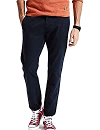 1410 Men's Semi Formal Casual Slim Fit 100% Double Combed Cotton Chinos Trousers Pants Office Casual Wear