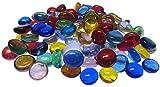 Fliesenhandel Fundus 1kg Glasnuggets 13-15 mm Muggelsteine Bunt Mix Nuggets klein ca.390 Stück