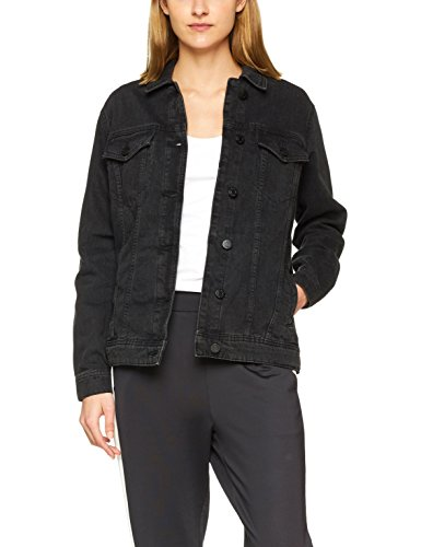 Noisy may Damen NMOLE L/S Black Denim Jacket NOOS Jeansjacke, Schwarz,...