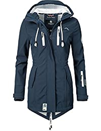 James/&Nicholson Damen Softshelljacke Hüftlang S M L XL 2XL Jacke Reißverschluss