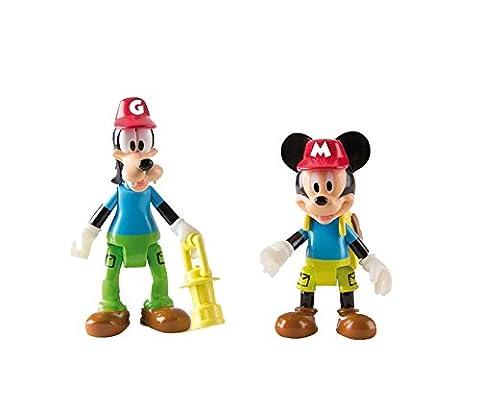 Mickey Mouse Club House–Mickey Maus und Goofy Outdoor Figuren (2Stück) (Mickey Mouse Lampe)