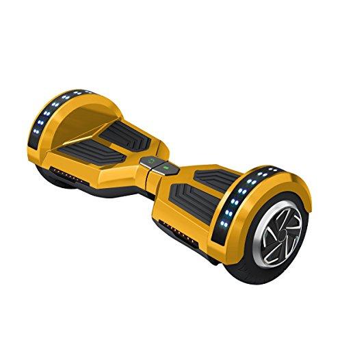 Freeman-F12-Patinete-electrico-de-250W-con-bateria-Samsung-con-certificado-UL2272-altavoz-de-3W-ruedas-de-8-color-Dorado