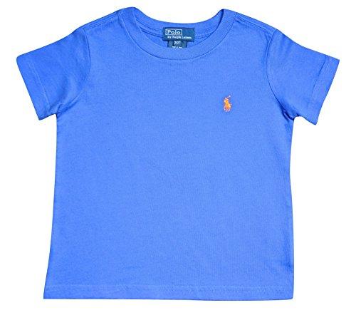 t-shirt-polo-ralph-lauren-maniche-corte-tinta-unita-6-colori-2-anni-blu