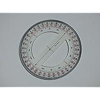 "6""Full Circle Nautical–Transportador de ángulos"