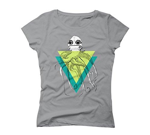 Octopus aviator Women's Graphic T-Shirt - Design By Humans Opal