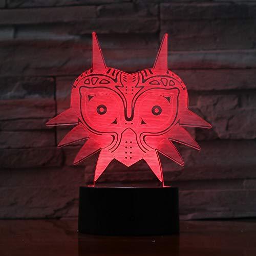 Legend of Zelda FIGURE Majoras Mask Lámpara lava