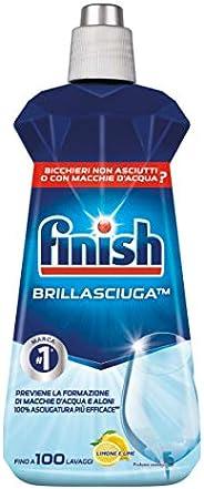 Finish Brillantante, Additivo Lavastoviglie, 1 Prodotto da 500 ml, Limone