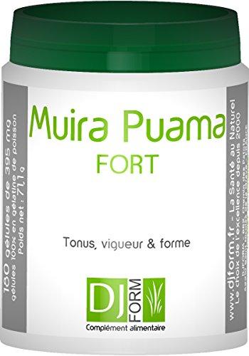 Muira Puama Extrakt - 180 Kapseln - Ptychopetalum Olacoides - Hergestellt in Frankreich