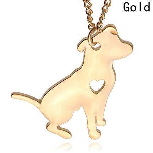JMZDAW Halskette Anhänger Modeschmuck Halskette Benutzerdefinierte Hund Halsketten Collier Kette Anhänger Tier Haustiere Neuen Welpen Für Weihnachten Geschenke -