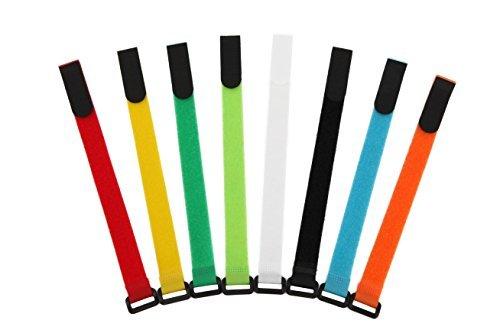 agptek-tiras-de-velcro-para-sujetar-cables-30-cm-de-largo-set-de-16-color-surtido