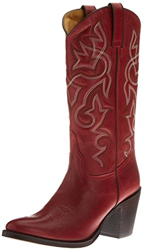 Tony Mora Damen 2732 Boots Red