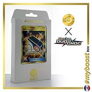 Sifflet de Juge (Silbato del Juez) 194/181 Entrenadore Secreta - #myboost X Soleil & Lune 9 Duo de Choc - Box de 10 Cartas Pokémon Francés