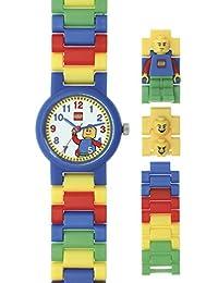 LEGO(レゴ)  - Reloj de cuarzo para niño, correa de plástico multicolor