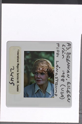 "Slides photo of Eileen Brennan in the scene from a 1988 American fantasy–adventure–musical film ""The New Adventures of Pippi Longstocking""."