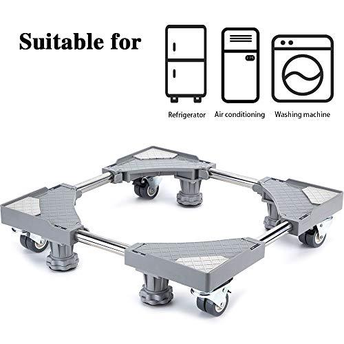 Base móvil muebles electrodomésticos ajustable 4