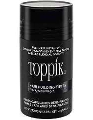 TOPPIK Fibres Capillaires Densifiantes Noir, 12 g