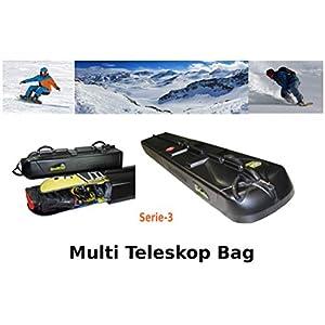 Teleskop Snowboardtasche Snowboardbag Raceboard Freeride Freestyle Board (Serie-3)