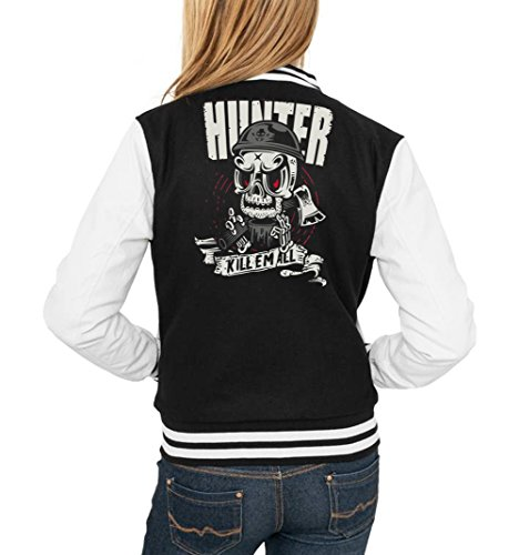 Certified Freak Hunter Killer College Vest Girls Black XL