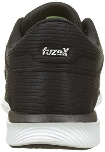 ... Asics FuzeX Rush Adapt, Scarpe Running Uomo Nero (Black/white/dark Grey  ...