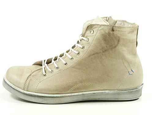 Andrea Conti 0341500066 - Damen Schuhe Freizeitschuhe - Taupe, Größe:40 EU