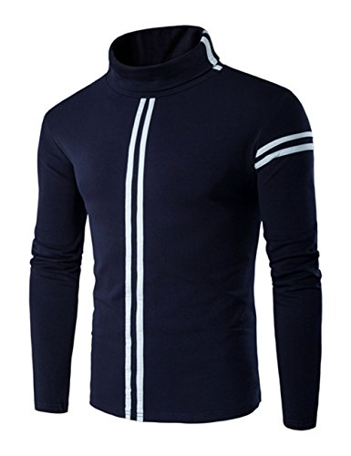 thinkmax-men-high-collar-long-sleeve-bottoming-shirt-casual-sport-t-shirt-navy-blue-xl