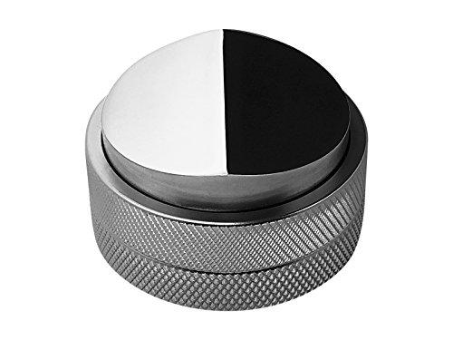 scarlet espresso | Distributor »Grande DUO« für Barista; zur perfekten Extraktion mit Siebträgermaschinen; 58 mm; verschiedene Farben; schwere Ausführung (Silber) thumbnail