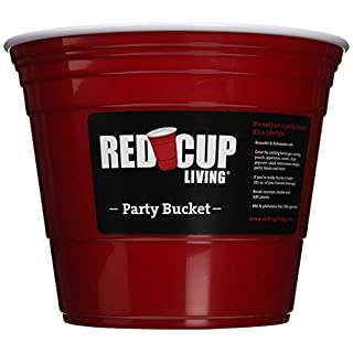 RedCupLiving 4753 Party Bucket, 5940ml, Red