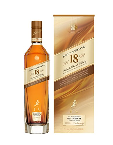 Johnnie Walker 18YO Blended Scotch Whisky, 70 cl