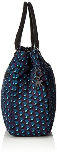 Kipling - Caralisa, Borse a secchiello Donna Multicolore (Mirage Print)