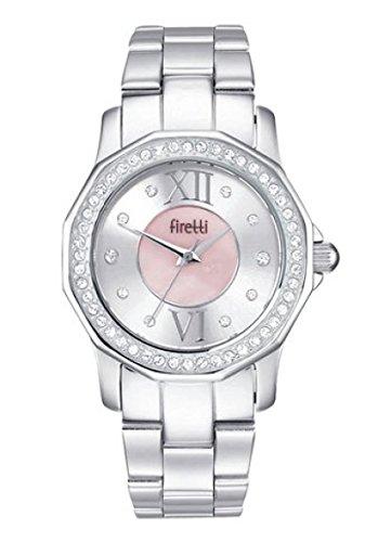 Schöne Damen Armbanduhr von FIRETTI Damenuhr Edelstahlarmband