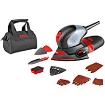 Skil 7207AK - Octo multilijadora compacta (100 W, 100 x 150 mm, bolsa para el polvo, juego de 3 accesorios, bolsa de lona)