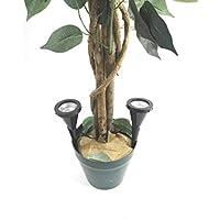 2 x LED Pflanzenstrahler Jasmin im Set Blumenstrahler mit Handschalter Zimmerpflanzenleuchte Spotlight Strahler Dekoleuchte Beleuchtung für Blumen Pflanzen