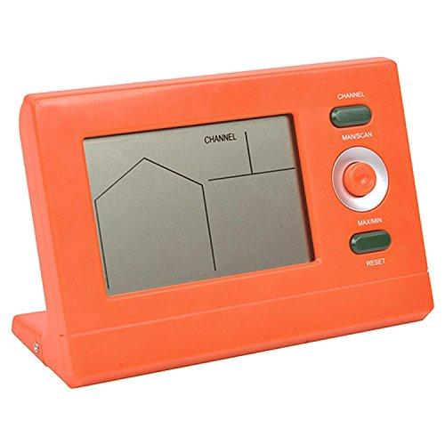 Pool Central Orange Digital Thermomètre de Piscine sans Fil avec récepteur Station