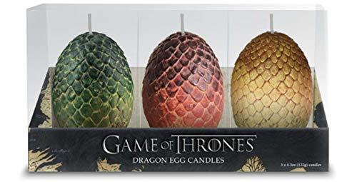 Photo de game-of-thrones-set-3-bougies-oeufs-de-dragon