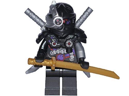 (LEGO® Ninjago™ Minifigur GENERAL CRYPTOR mit Waffen - Nindroid Leader - NEUHEIT 2016 (70596))