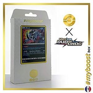 Absol 88/181 Holo - #myboost X Soleil & Lune 9 Duo de Choc - Box de 10 Cartas Pokémon Francés