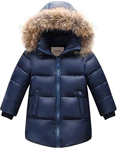 c49e142aafd1 Zoerea Giubbotti Piumino Bambino Inverno Caldo Bambini Addensare Outfit  Piumino con Cappuccio