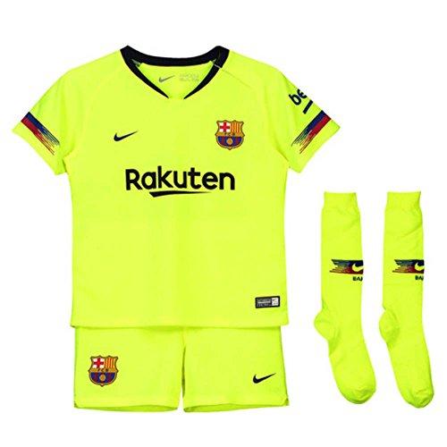 987db58a751a0 Nike 2018-2019 Barcelona Away Little Boys Mini Kit