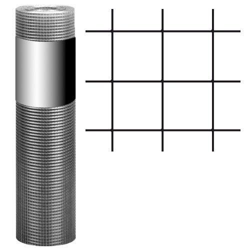 hadra G121000V5I Punktgeschweißtes Gitter auf Rollen, verzinkt